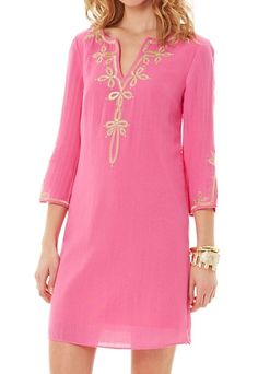 Lilly Pulitzer Copeland Tunic Dress in Hotty Pink