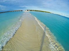 natural walkway- maldives... I WANT TO FROLIC  DOWN THAT STRETCH OF BEACH SO FREAKING BAD!!!!