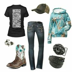 Country style: