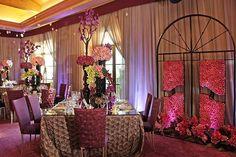 Loving the jewel tones of this room (Venue: Wedding Linens, Linen Rentals, Jewel Tones, Color Theory, Wedding Reception, Dresser, Dream Wedding, Chairs, House Design