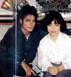Michael Jackson and Mutsumi Inomata, 16-10-1987