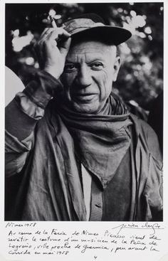 Happy Birthday, #Picasso! Photo by Lucien Clergue, 1958