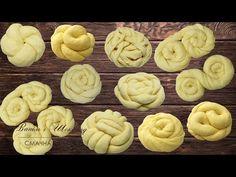 10 способів завертання булочок/Плетенка/Смачний рецепт №46. - YouTube Sweet Pastries, Bread And Pastries, Bread Recipes, Cooking Recipes, Bread Shaping, Mini Pancakes, Baked Doughnuts, Crepe Cake, Food Decoration