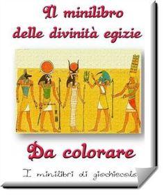 Un libretto di 16 pagine in pdf da colorare sulle divinità degli antichi egizi. Impara tutto sulle divinità egizie e colorale come preferisci.