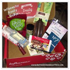 New VoxBox Box Opening from @Influenster @InfluensterVox #FrostyVoxBox #GotItFree « DustinNikki Mommy of Three