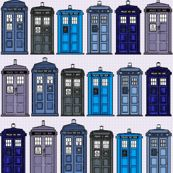 tardis fabric... - this page has a ton of Dr. Who Fabric!  (not that I would ever sew anything)