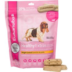 Eukanuba Healthy Extras Adult Weight Control Treats for Dogs