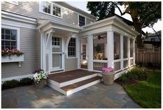 Screened In Porch / Sunroom Exterior Design Ideas