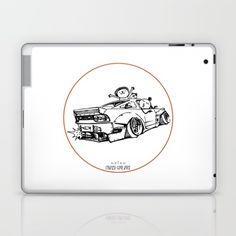 Crazy Car Art 0007 Laptop & iPad Skin by mame_ozizo Weird Cars, Car Illustration, Kustom Kulture, Laptop Skin, Old School, Ipad, Drawings, Artwork, Work Of Art