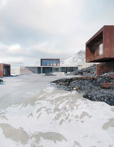 Architectural Correctional Facility in Greenland - by schmidt hammer lassen