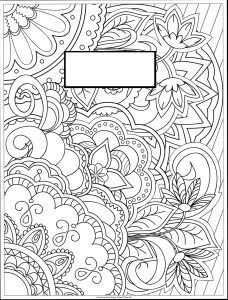Coloring Page Binder Cover Printable Coloring Pages
