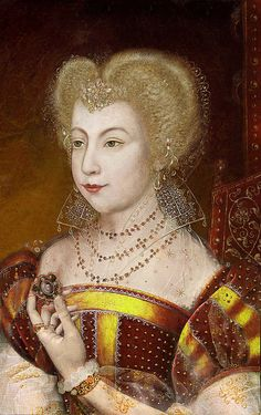 MARGUERITE DE VALOIS (1553-1615) Queen of Navarre 1572 and Queen of France 1589 - She was the last of the House of Valois - Daughter of King Henry II of France and Catherine de' Medici sister of Kings Francis II, Charles IX and Henry III and of Queen Elizabeth of Spain. Queen of 2 countries, for she had married King Henry III of Navarre who became King Henry IV of France.