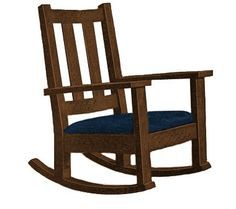 Build Your Own Front Porch Rocking Chair Pattern Diy Plans
