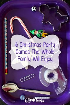 "6 Christmas Party Games The Whole Family Will Enjoy Whether you're hosting a small pre-Christmas bash at your house with friends, or just celebrating with your hubby and kids, these fun-filled activities will have everyone ""laughing all the way! Christmas Games For Family, Christmas Activities, Christmas Traditions, Winter Christmas, All Things Christmas, Christmas Ideas, Christmas 2019, Christmas Crafts, Christmas Gift Exchange Games"