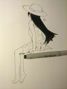 Manga drawing.