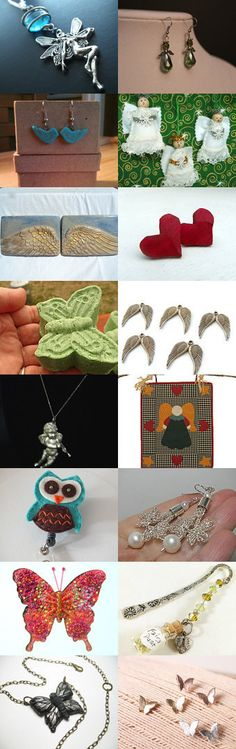 Things with Wings by Melissa on Etsy--Pinned with TreasuryPin.com