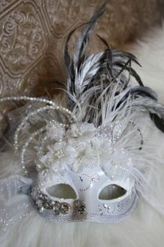 in hopes i'll have a masquerade ball one day