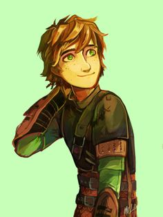 Hiccup is my favorite character. ♡ I wished there would be an episode where Hiccup gets amnesia and the other Riders have to reteach him about Dragons. Of course, it ends in disaster as Hiccup is the best in the Dragon business. That would be so funn Dreamworks Movies, Disney And Dreamworks, How To Train Dragon, How To Train Your, Fanart, Croque Mou, Character Art, Character Design, Httyd Dragons