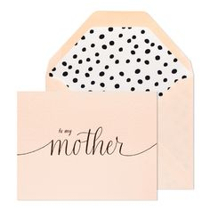 Don't forget the card this Mother's Day, witha thoughtful piece from Quill London.