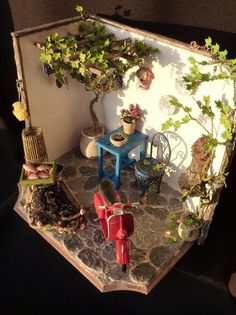 MiNiaTuRe OuTDooR GaRDeN PaTiO RooM BoX ____Projecten