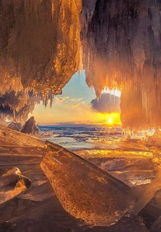 Fire Cave, Lake Baikal, Russia - Photographed by CoolBieRe