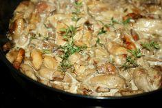 sos tymiankowo maślakowy Meat, Chicken, Cubs