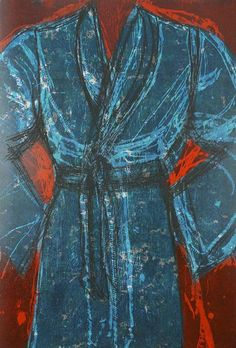 jim dine robe paintings | Jim Dine | Blue Vienna (2013), Available for Sale | Artsy