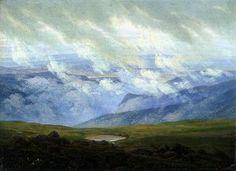 Caspar David Friedrich Sublime