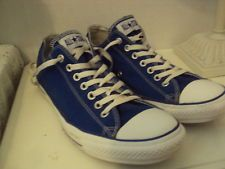 MENS BLUE CONVERSE LACE UP TENNIS SHOES MENS SZ 12 NO HOLES OR TEARS | http://www.cbuystore.com/page/viewProduct/10059999 | Canada