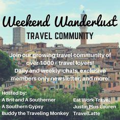 weekend wanderlust