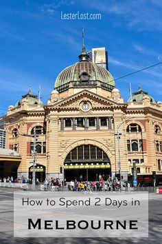 Melbourne is the second largest capital city in Australia and a serious contender for Sydney in the popularity stakes. To inspire you, I have found the best way to spend 2 days in Melbourne. #visitmelbourne #travelblog #visitvictoria