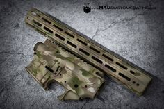 MADLand Camo on an @aero_precision set. #cerakoteMADness