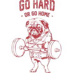 Go Hard or Go Home is a Men's T Shirt designed by huebucket to illustrate your life and is available at Design By Humans