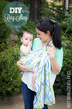 """DIY (or as I like to say, """"find someone who will DI-for-me"""" ) Ring Sling... I really want a ring sling."""