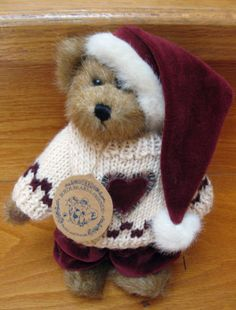 RETIRED BOYDS BEARS**EDMUND T. BEAR**From the ARCHIVES SERIES~Baileys Friend~TAG