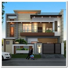 Architecture Discover most popular modern dream house exterior design ideas 19 Home Roof Design House Front Design Tiny House Design Modern House Design Exterior Design Modern Exterior House Design Pictures Beautiful Modern Homes Modern Tiny House Best Modern House Design, Modern Exterior House Designs, Modern Architecture House, Modern House Plans, Exterior Design, Rendering Architecture, Facade Design, Modern Houses, Modern Buildings
