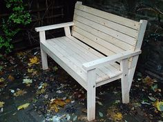 Easy bench seat project