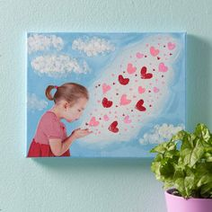 grandparents day crafts for preschoolers Blowing Kisses to Grandma Canvas Valentine Crafts For Kids, Mothers Day Crafts For Kids, Diy Mothers Day Gifts, Fathers Day Crafts, Mothers Day Cards, Grandma Gifts, Grandparents Day Crafts, Grandparent Gifts, Blowing Kisses
