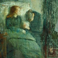 The Sick Girl - Edvard Munch