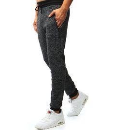 Pánske čierne teplákové nohavice Sweatpants, Fashion, Moda, Sweat Pants, Fasion, Training Pants