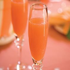 Blushing Mimosas - Top Holiday Cocktails Recipes - Southern Living