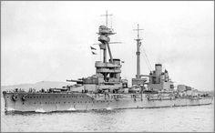 A nice photo of HMS Agincourt