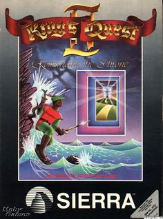 King's Quest 2 - Romancing the Throne - Sierra 1985