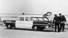 1958 Chevrolet Yeoman Utility Police Car