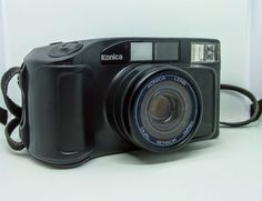 Konica MR.640 Dual Sensor Lens 35mm Point And Shoot  Compact Film Camera Japan #Konica