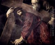 Christ Carrying the Cross c. 1565  by Tiziano Vecellio (Titian)