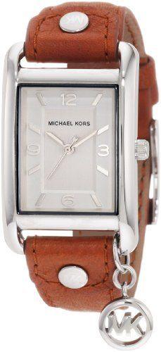 Michael Kors - Quartz Leather Rectangle Charm with Silver Dial Women's Watch - MK2165 Michael Kors, http://www.amazon.com/gp/product/B002IVTFH8/ref=cm_sw_r_pi_alp_UfzLpb0066X2E