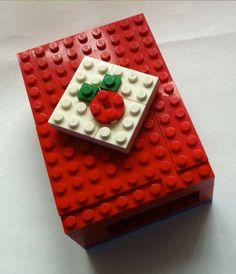 Raspberry Pi case made with LEGOs