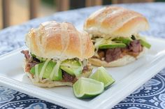 Mexican Style Steak Sandwiches