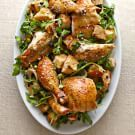 Try the Roasted Chicken with Warm Bread Salad Recipe on williams-sonoma.com/